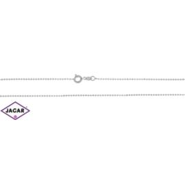 Łańcuszek rodowany Xuping - kulki - 50cm LAP71