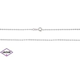 Łańcuszek rodowany Xuping - kulki - 50cm LAP72