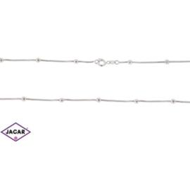 Łańcuszek rodowany Xuping - kulki - 45cm LAP73