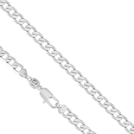 Łańcuszek rodowany - dł: 50cm LAP553