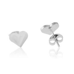 Kolczyki serce stal chirurgiczna -Xuping - EAP8928