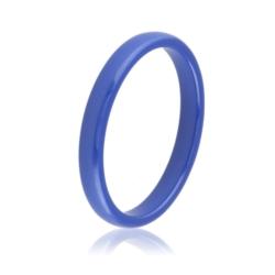 Pierścionek ceramiczny niebieski - Xuping PP1825
