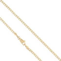 Łańcuszek pozłacany - pancerka - Xuping LAP1342