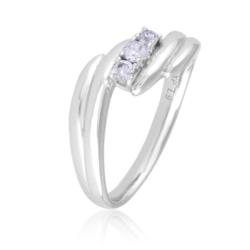 Pierścionek z kryształkami - Xuping - PP1895