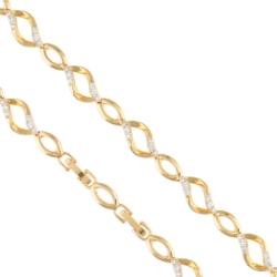 Bransoletka z kryształkami - Xuping BP4174