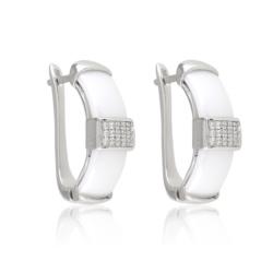 Kolczyki ceramiczne - Xuping - EAP9836