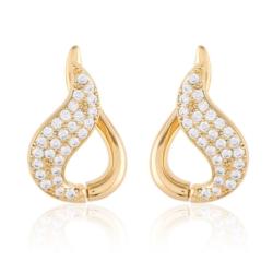 Kolczyki z kryształkami - Xuping - EAP9842