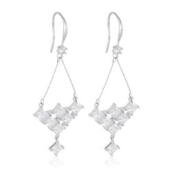 Kolczyki wiszące z kryształkami - Xuping EAP9866