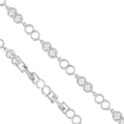 Bransoletka z kryształkami - Xuping - BP4271