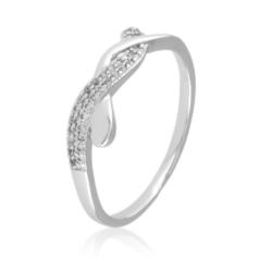 Pierścionek z kryształkami - Xuping - PP1996