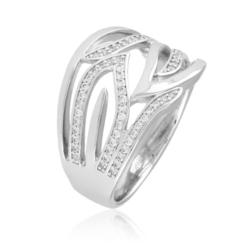 Pierścionek z kryształkami - Xuping - PP1998