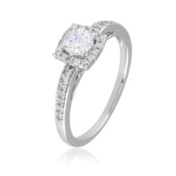 Pierścionek z kryształkami - Xuping - PP2001