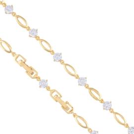 Bransoletka z kryształkami - Xuping - BP4418