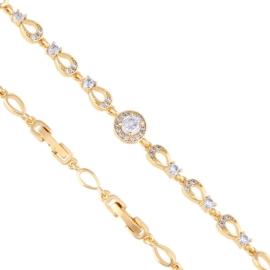 Bransoletka z kryształkami - Xuping - BP4420