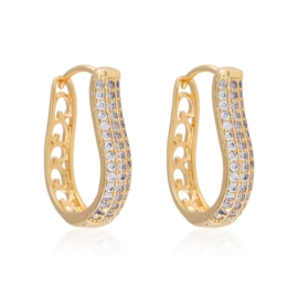 Kolczyk z kryształkami - Xuping EAP10582
