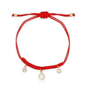 Bransoletka na sznurku - Xuping - BP4528