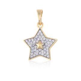 Przywieszka - gwiazdka - Xuping - PRZ2102