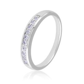 Obrączka z kryształkami - Xuping PP2070