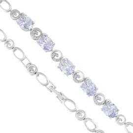 Bransoletka z kryształkami - Xuping BP4612