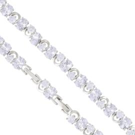 Bransoletka z kryształkami - Xuping BP4613