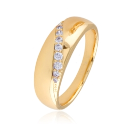 Pierścionek z kryształkami - Xuping PP2303