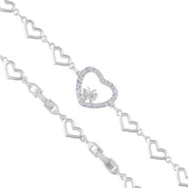 Bransoletka z kryształkami Xuping BP4909