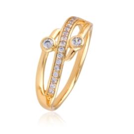 Pierścionek z kryształkami - Xuping PP2316