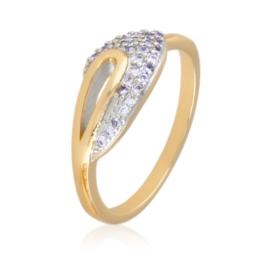 Pierścionek z kryształkami - Xuping PP2349