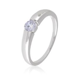 Pierścionek - obrączka z kryształem Xuping PP2351