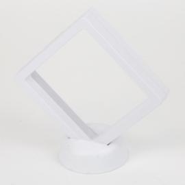 Ekspozytor - biała ramka 3D - 13x12cm EKS106