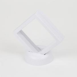 Ekspozytor - biała ramka 3D - 10x9cm EKS108