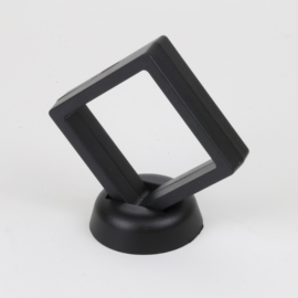 Ekspozytor - czarna ramka 3D - 10x9cm EKS109