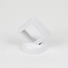 Ekspozytor - biała ramka 3D - 7,5x6cm EKS110