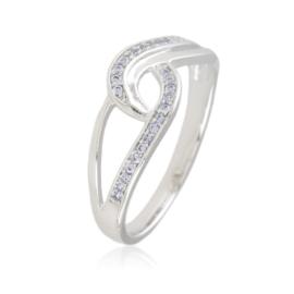 Pierścionek z kryształkami - Xuping - PP2396