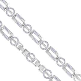 Bransoletka z kryształkami - Xuping BP5146