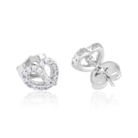 Kolczyki sztyfty z kryształkami - Xuping EAP11908