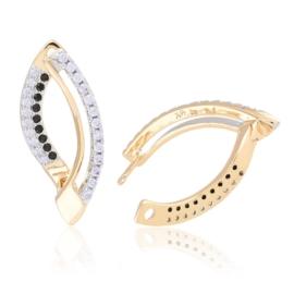 Kolczyki z kryształkami - Xuping EAP11963