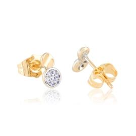Kolczyki sztyfty z kryształkami - Xuping EAP11964