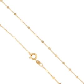 Łańcuszek z blaszkami 35cm - Xuping LAP1787