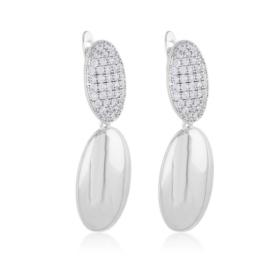 Kolczyki z kryształkami - Xuping EAP12109