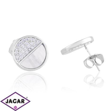 Kolczyki sztyfty z masą perłową - Xuping EAP12261