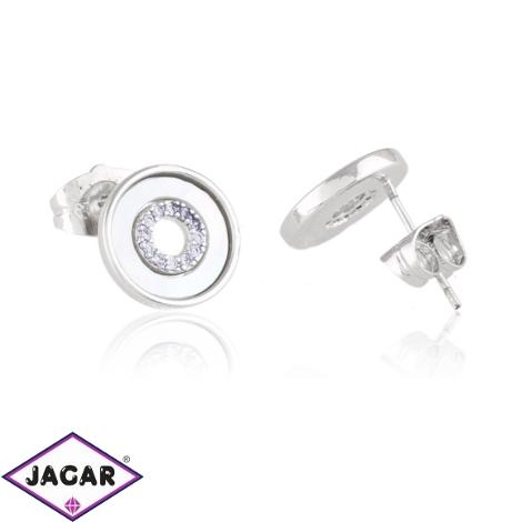 Kolczyki ceramiczne sztyfty - Xuping - EAP12425