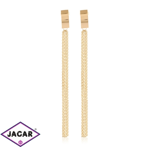Kolczyki wiszące łańcuszki - Xuping - EAP12429
