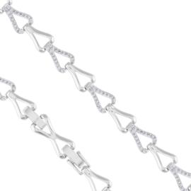 Bransoletka z kryształkami Xuping - BP5400
