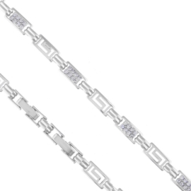 Bransoletka z kryształami - Xuping - BP5408
