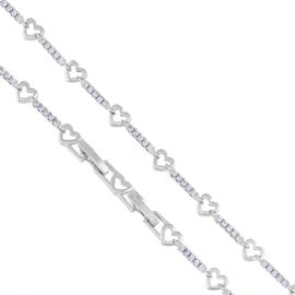 Bransoletka codzienna serduszka - Xuping - BP5415