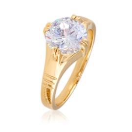 Pierścionek z dużym kryształem - Xuping - PP2320