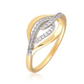 Pierścionek z kryształkami - Xuping PP2500