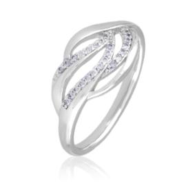 Pierścionek z kryształkami - Xuping PP2501