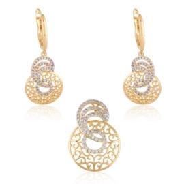 Komplet biżuterii - ażurowy Xuping PK514